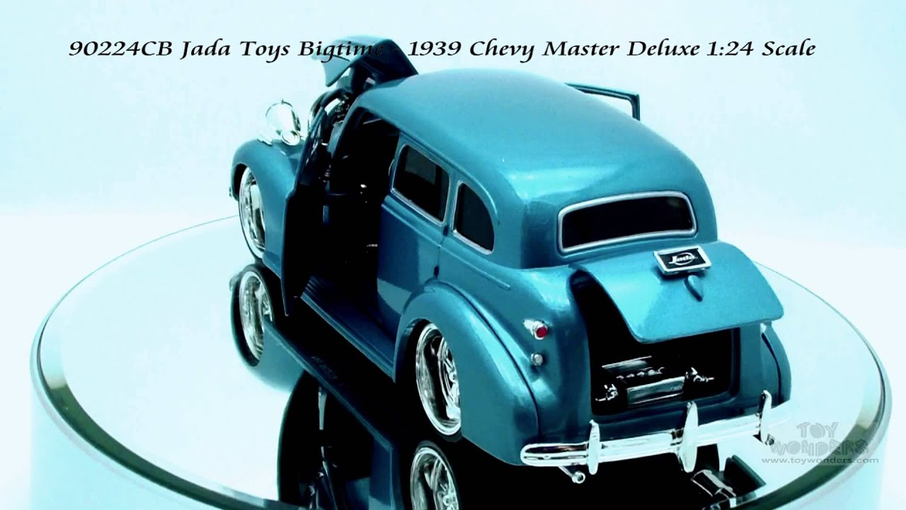 90224cb Jada Toys Bigtime Kustoms 1939 Chevy Master Deluxe 124 Scale 1951 1953 Chevrolet Pickup Diecast Wholesale