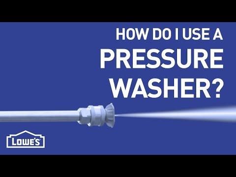 How Do I Use A Pressure Washer? | DIY Basics