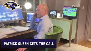 Patrick Queen' Gets The Call From GM Eric DeCosta in 2020 NFL Draft| Baltimore Ravens