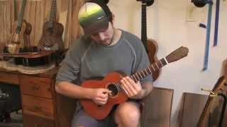 David Jacobs-strain Visits Stansell Guitars And Ukuleles
