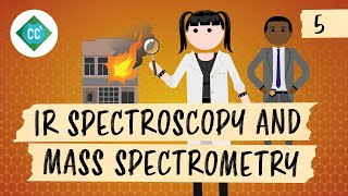 IR Spectroscopy and Mass Spectrometry: Crash Course Organic Chemistry #5