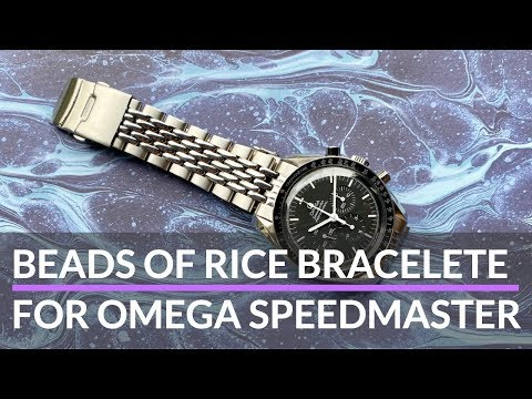 Omega Speedmaster Beads Of Rice Aftermarket Bracelet By Uncle Seiko [REVIEW]