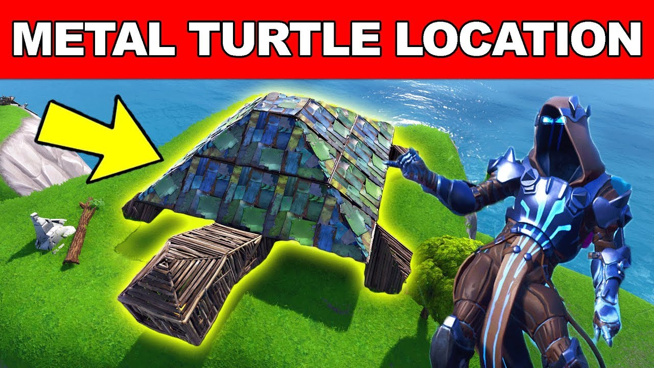 Dance On Top Of A Metal Turtle Location Week 1 Challenges Fortnite
