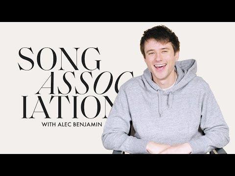 "Alec Benjamin Sings Bazzi, Justin Bieber, and ""Jesus In LA"" in a Game of Song Association | ELLE"