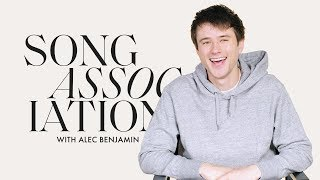 "Alec Benjamin Sings Bazzi, Justin Bieber, and ""Jesus In LA"" in a Game of Song Association 