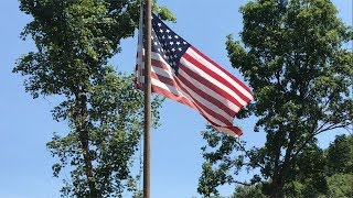 DIY 15' Flag Pole On The Cheap, Happy 4th of July!