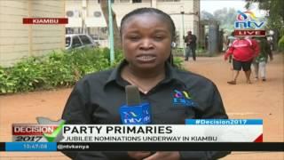 Jubilee party primaries: Voting underway in Kiambu #ElectionsKE thumbnail