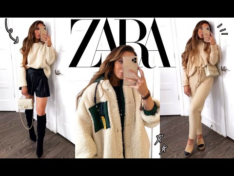 HUGE ZARA WINTER HAUL | BLACK FRIDAY SALE