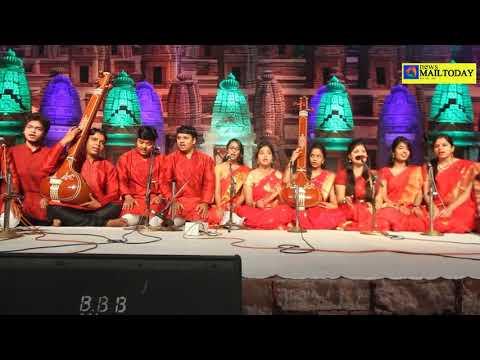 Tansen samaroh 2017 drupad raja mansingh tomar arts & music university GWL