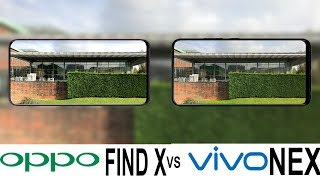 Oppo Find X Vs Vivo NEX Camera Test