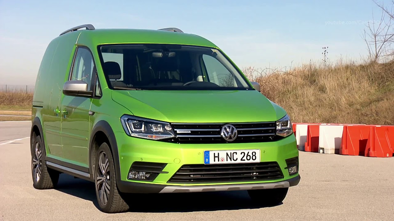 2019 Volkswagen Caddy Alltrack Panel Van - YouTube