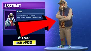 Becoming Abstract From Fortnite Battle Royale In Real Life! (Fortnite Cosplay) Fortnite Skin IRL!