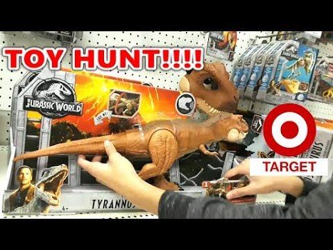 Toy Hunt #7 - Jurassic World: Fallen Kingdom TOYS At Walmart, Target!! & ToysRus!
