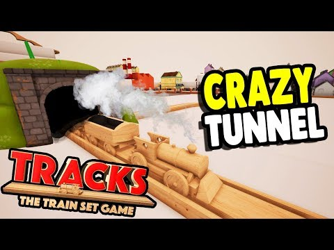 NEW FAVORITE GAME GETS BIG UPDATE | Tunnels, Wooden Train Set, Tracks - The Train Set Game Gameplay