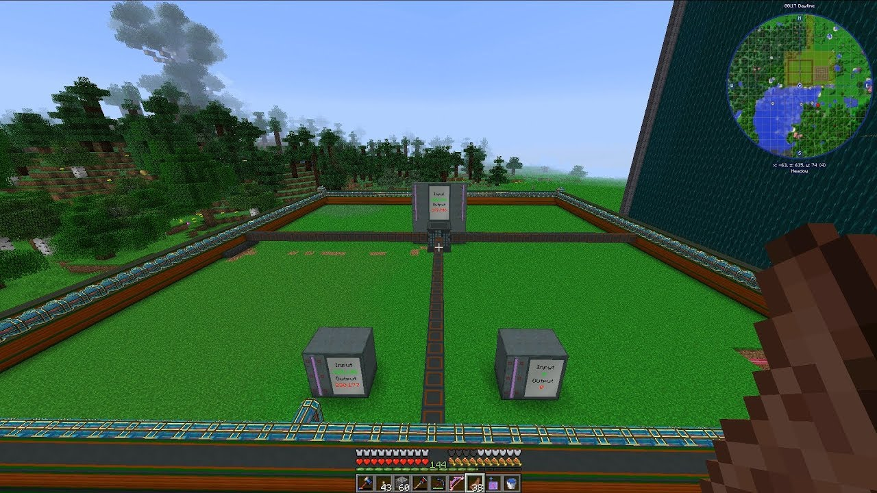 Automate Everything Ep  73: Max Size NuclearCraft Fusion Reactor Build!
