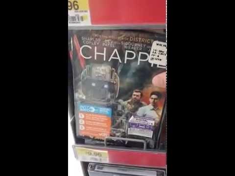 Joe Burk is looking at movies and music at Wal-Mart