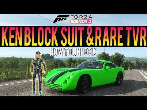 Forza Horizon 4 - How To Get NEW Ken Block Suit! + Rare TVR *Exclusive Car* thumbnail