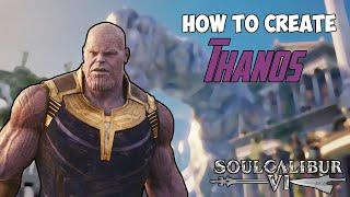 Soul Calibur 6 : How to Make Thanos