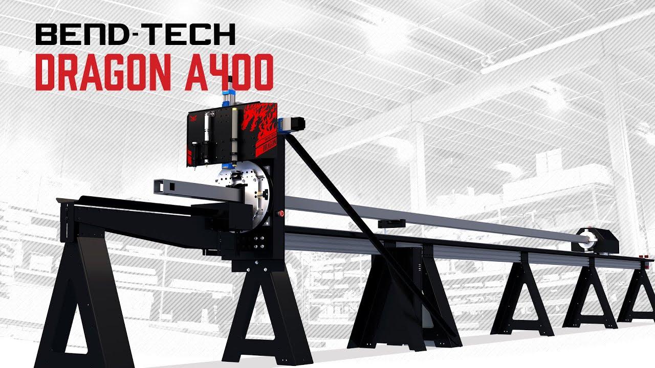 Bend-Tech Dragon A400 | Commercial level CNC Plasma Tube Cutter & Notcher