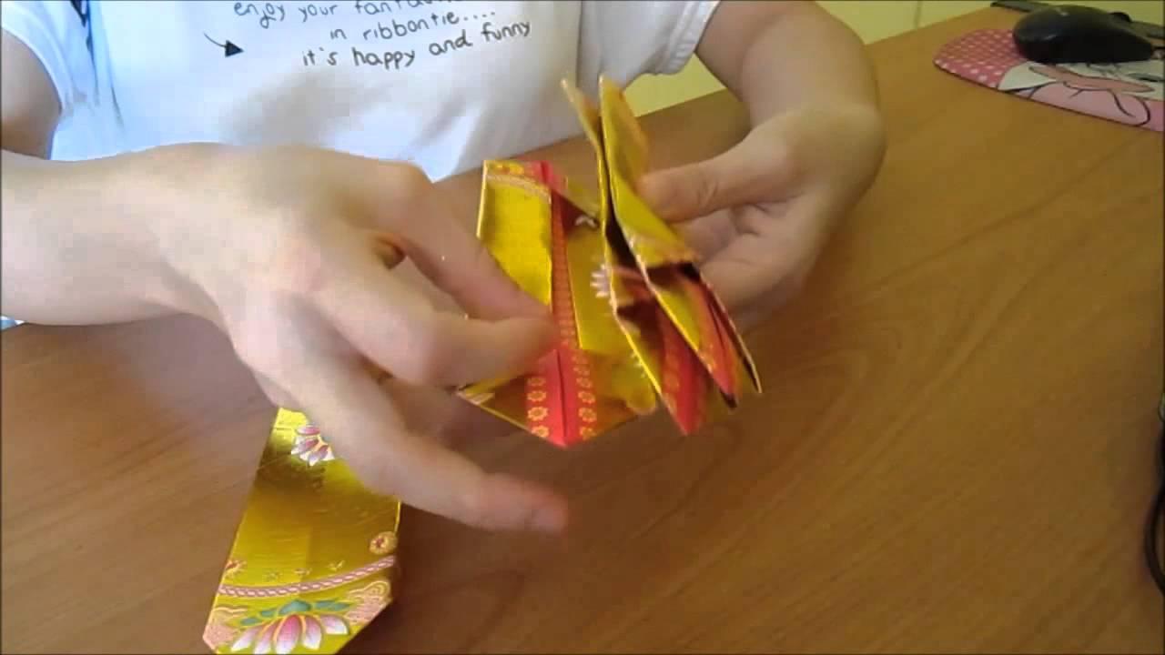 Fold Joss Paper Lotus Flower Tikiritschule Pegasus