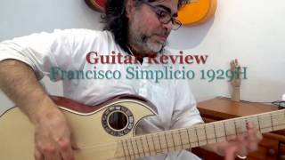 Balance Double Cutaway Simplicio 1929H Negra/ New Generation Andalusian Guitars (Spain)
