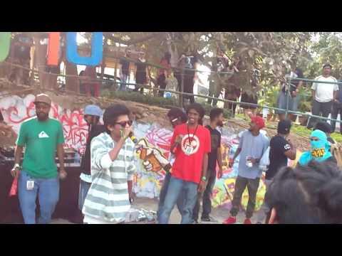 Rap battle ( marathi rap ) in cad 10 festival
