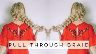 TUTORIAL | Pull Through Wrap Around Braid