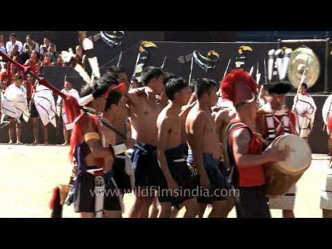 Ao Naga tribe gets ready for tug of war game: Nagaland