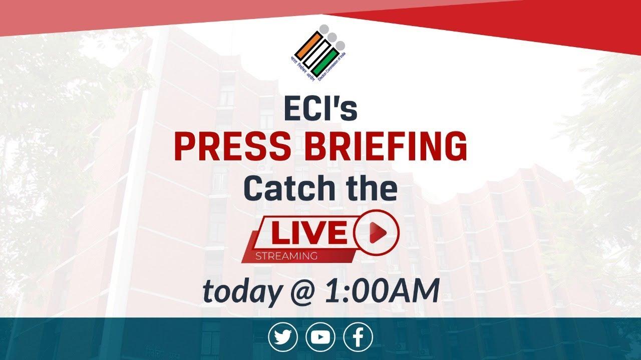Live Press Briefing: