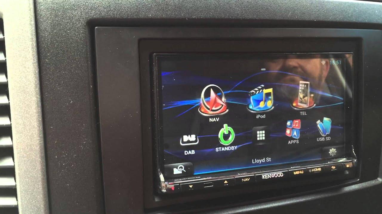 Mercedes Sprinter Van >> Mercedes Sprinter Van 2015 Kenwood DNN9150DAB Car Audio ...