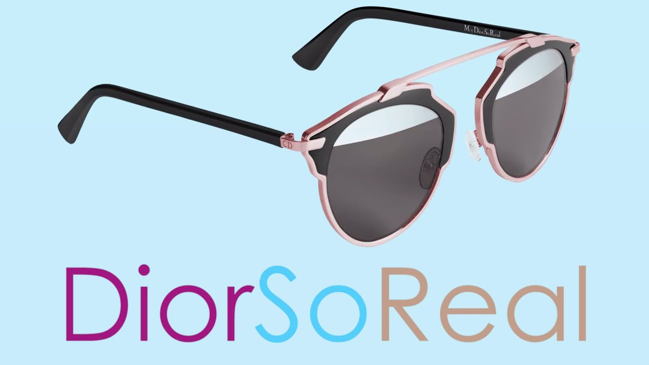 9c5a3fb6ceb5b Dior So Real Sunglasses collection by OpticalH