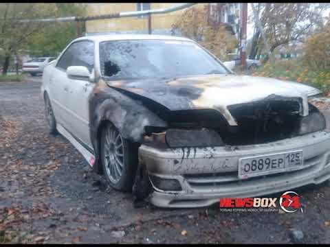 В Спасске-Дальнем поджигают и бьют автомобили таксистов