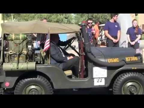 Tucson Veterans Day Parade (Part I) November 11, 2016