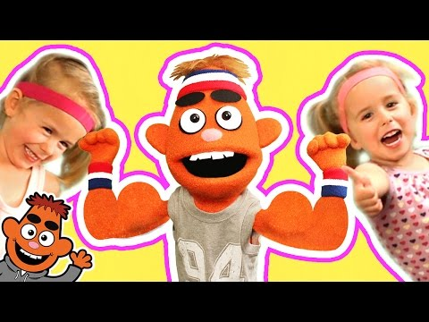 LET'S GET FIT SONG ♫ | Dance & Move | Kids Songs | Pancake Manor