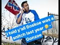 Gonzoe reacts to my Is Boskoe a snitch Mp3   Speaks on Wack 100   more