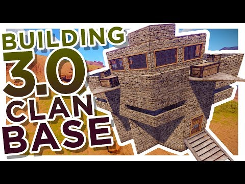 RUST | BEST Building 3.0 STRONG Trio/Clan BASE!!