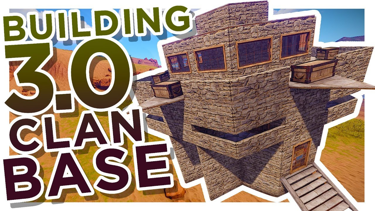 RUST BEST Building 30 STRONG TrioClan BASE YouTube