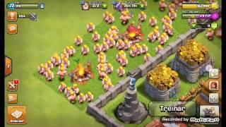 Como ganhar dinheiro e trofeus muito rapido no clash of clans 💰💰💰