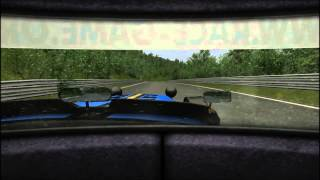 gtr evo race 07 nordschleife caterham csr 320 heavy rain