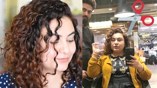 CURLY HAIR cutting in INDIA
