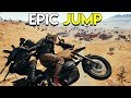 EPIC JUMP! - PlayerUnknown's Battlegrounds (PUBG)