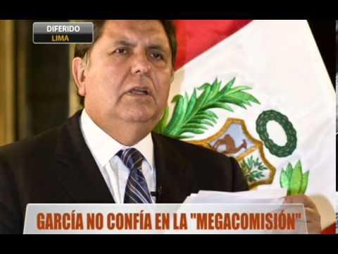 """García no confía en la """"Megacomisión"""""""