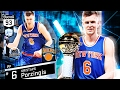 DIAMOND KRISTAPS PORZINGIS GAMEPLAY  BEST CARD IN THE GAME    NBA 2K17 MYTEAM