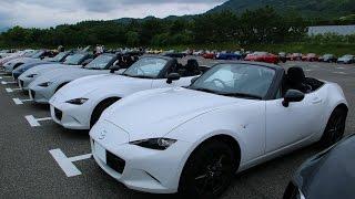 新型ロードスター 3種類の白