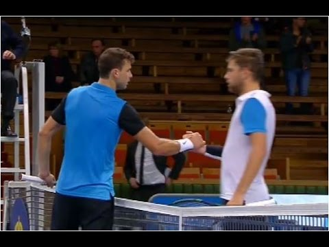 Grigor Dimitrov vs. Filip Krajinovic 7-5, 6-3 If Stockholm Open (R32) 20.10.2015.