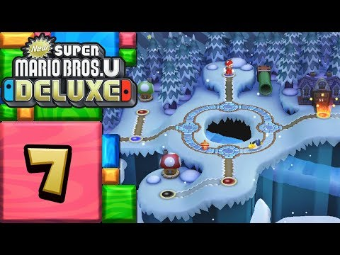 New Super Mario Bros. U Deluxe ITA [Parte 7 - Ghiacciaio candito]