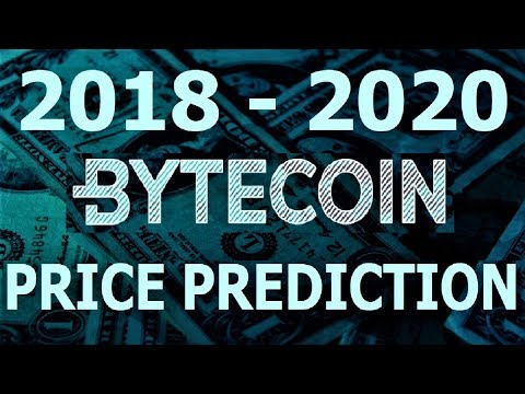 BYTECOIN (BCN) PRICE PREDICTION 2018-2020