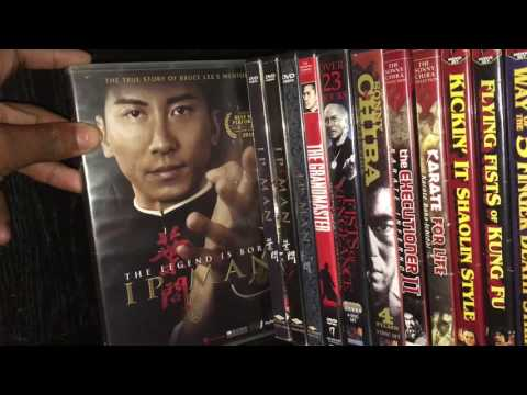 My Classic Kung Fu/Martial Arts DVD Collection