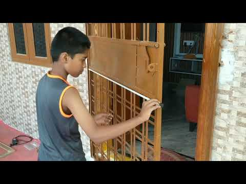 How To Make Mosquito Net For Door