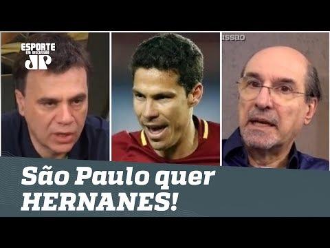 São Paulo quer HERNANES! Está bem no mercado? Veja DEBATE!